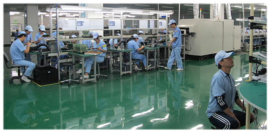 Hiteg assembly factory - reflow soldering